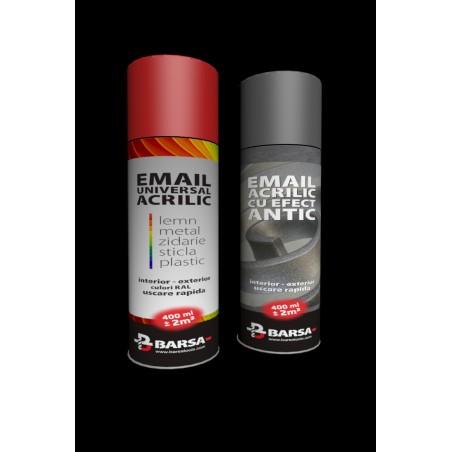Email negru cu efect metalizat - BARSA KOX