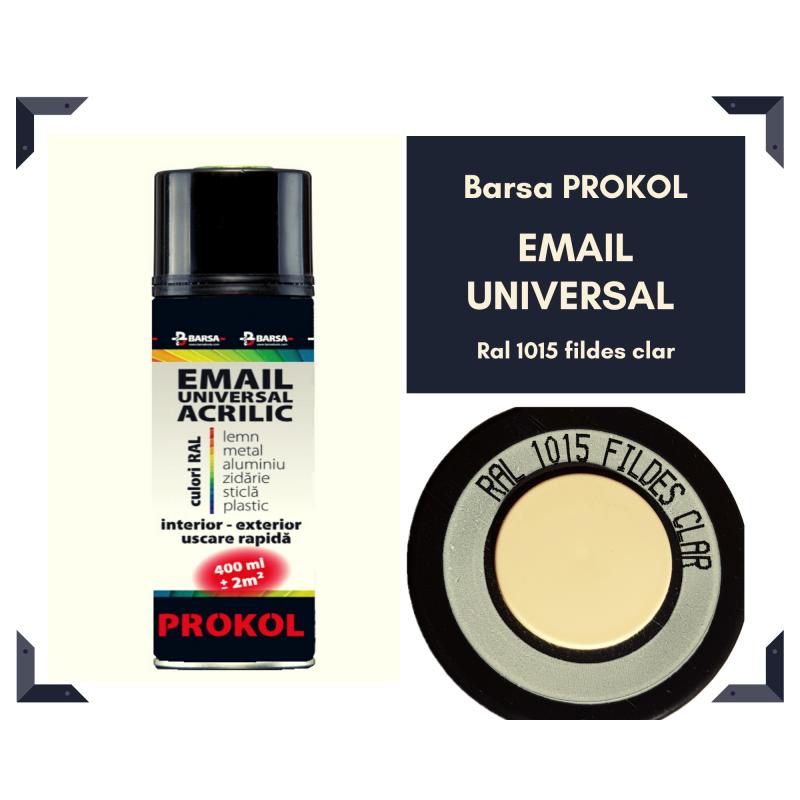 BARSA PROKOL email acrilic fildes clar ral 1015 lucios - 400ml