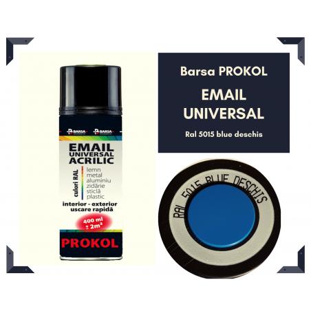 BARSA PROKOL - email acrilic bleu deschis ral 5015 lucios - 400ml