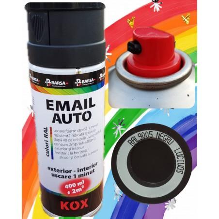BARSA PROKOX email auto lucios negru - 400ml