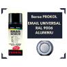 Email acrilic lucios gri aluminiu ral 9006 - BARSA PROKOL - 400ml