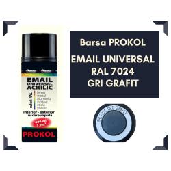 Email acrilic gri grafit...